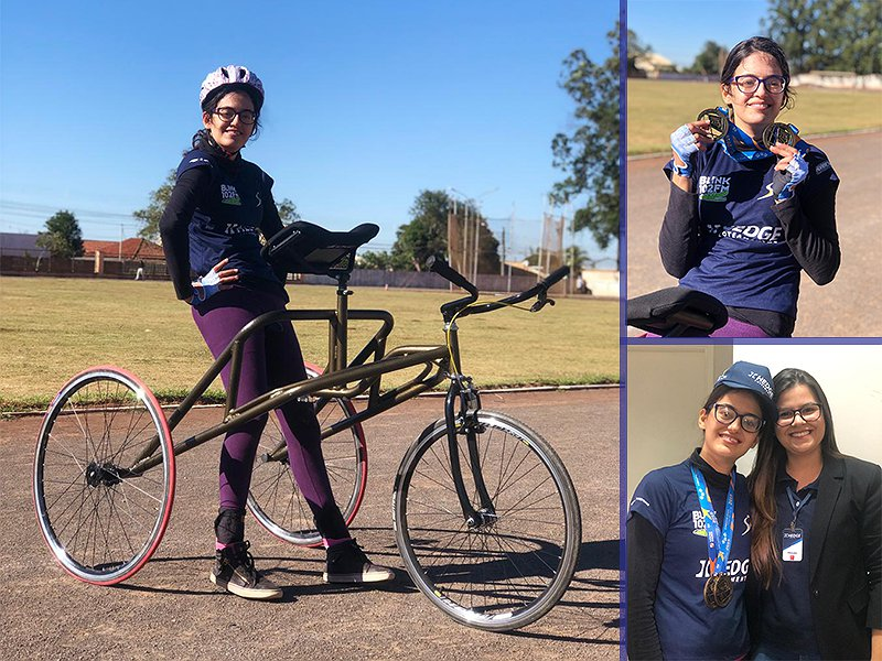 Paratleta de 21 anos ganha ''bicicleta petra'' de patrocínio