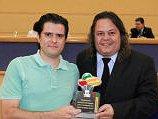 Câmara Municipal homenageia o administrador Rubens Filinto